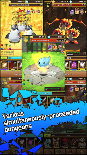 Télécharger Sword Knights : Idle RPG (Magic) apk mod screenshots 6