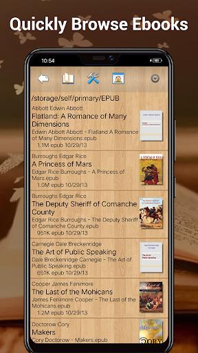 EBook Reader & Free ePub Books android2mod screenshots 4
