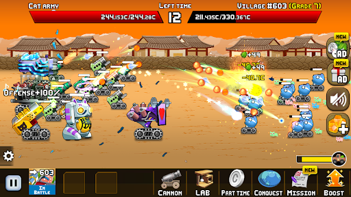Idle Cat Cannon modavailable screenshots 3