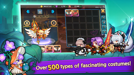 Raid the Dungeon : Idle RPG Heroes AFK or Tap Tap 1.10.2 screenshots 12