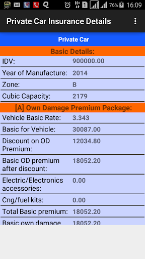 Motor Insurance Calculator android2mod screenshots 10
