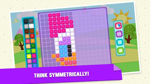 Mirror Mosaic : Symmetry Puzzles  screenshots 5