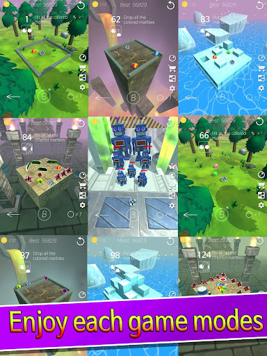 Marble Zone : Offline stylish puzzle action screenshots 9