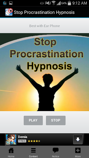Stop Procrastination Hypnosis For PC Windows (7, 8, 10, 10X) & Mac Computer Image Number- 7