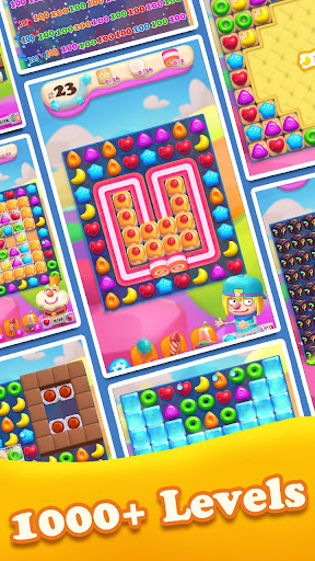 Crazy Candy Bomb - Sweet match 3 game 4.6.1 screenshots 2