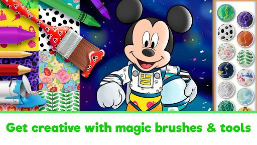 Disney Coloring World - Drawing Games for Kids 8.1.0 screenshots 11