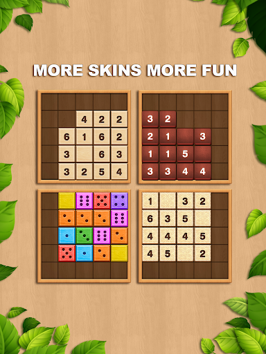 TENX - Wooden Number Puzzle Game  screenshots 13