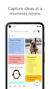 Google Keep – Notes and Lists Mod 5.21.041.04 Apk [Unlocked] 1