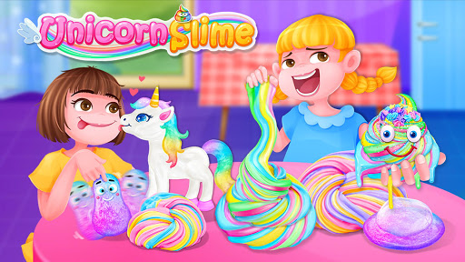 Unicorn Slime - Crazy Fluffy Trendy Slime Fun Latest screenshots 1
