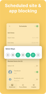BlockSite - Stay Focused & Control Your Time Screenshot