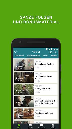 sixx – Kostenloses Live TV und Mediathek  screenshots 1