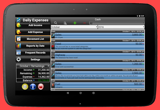 Daily Expenses 2: Personal finance android2mod screenshots 19