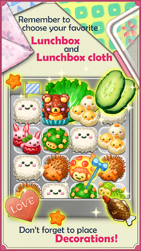 Fluffy! Cute Lunchbox  screenshots 3