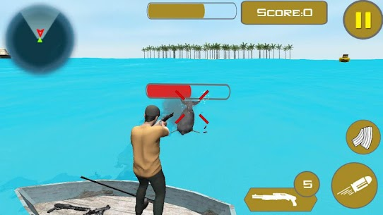 Angry Shark Shooter Simulator Hack for Android and iOS 4