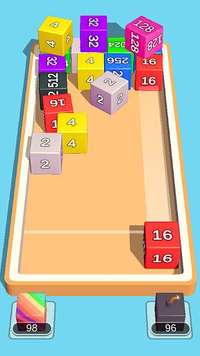 2048 3D: Shoot & Merge Number Cubes, Block Puzzles Screenshots 4