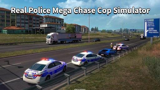 Police Car Chase Thief Real Police Cop Simulator screenshots 3