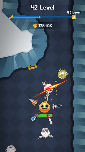 Merge Blade Master : offline idle game screenshots 6