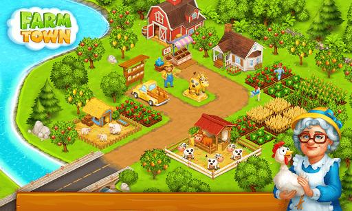 Farm Town: Happy village near small city and town  Screenshots 3