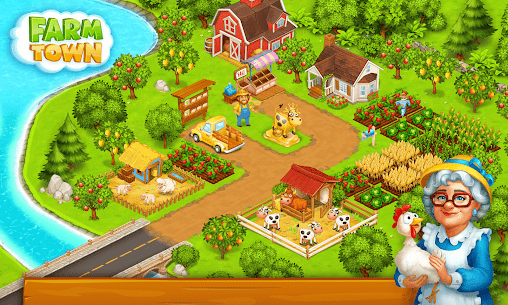 Farm Town: Happy village near small city and town 3