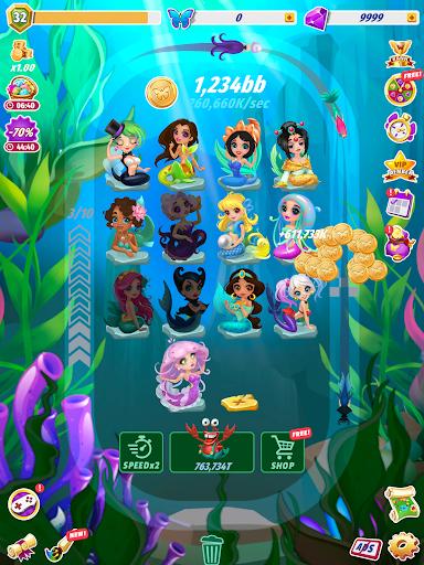 Merge Fairies - Best Idle Clickerud83euddda android2mod screenshots 11