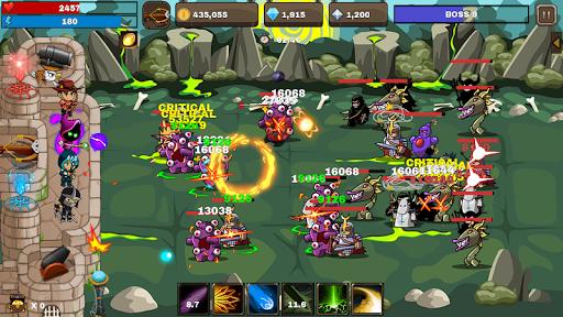 Final Castle Defence : Idle RPG apkslow screenshots 4
