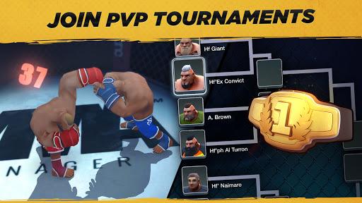 MMA Manager 2021  APK MOD (Astuce) screenshots 4