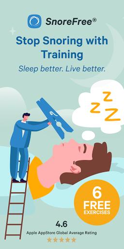 Snore Free : Deep Sleep : Snoring Therapy 2.0.20 screenshots 1