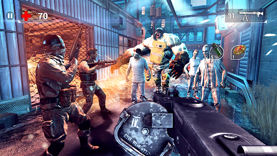 UNKILLED – Zombie Games FPS MOD APK 2.1.2 (Unlimited Ammo, Auto Heal) 13