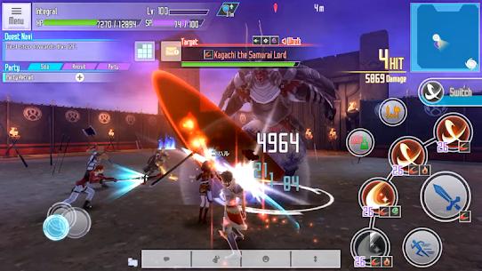 Sword Art Online: Integral Factor Mod 1.8.2 Apk [God Mod] 5