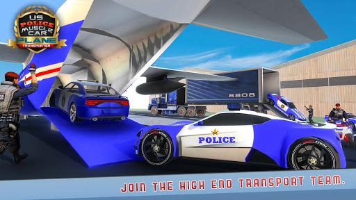 US Police Muscle Car Cargo Plane Flight Simulator 4.7 screenshots 5