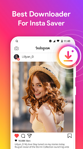 Downloader for Instagram android2mod screenshots 1