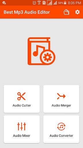 MP3 Cutter and Ringtone Maker - Audio Merger android2mod screenshots 1