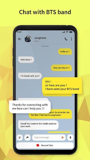 BTS Messenger - Chat with BTS Joke  screenshots 3