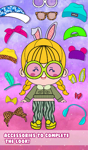 Chibbi dress up : Doll makeup games for girls 1.0.2 screenshots 5