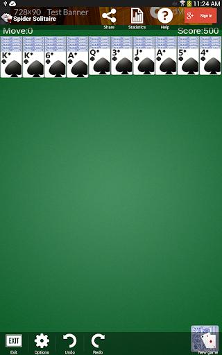 Spider Solitaire 1.2.14 screenshots 9