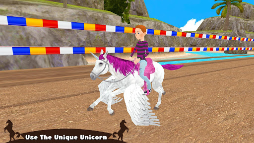Horse Riding Simulator 3D : Jockey Mobile Game 1.4 screenshots 5