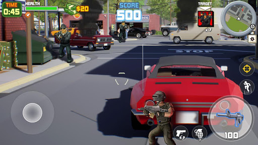 Gangster City: OpenWorld Crime Shooting Game- FPS  screenshots 6