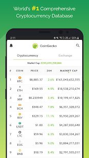 CoinGecko- Bitcoin & Cryptocurrency Price Tracker 1.18.2 screenshots 1