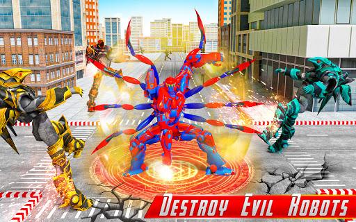 Spider Robot Car Game u2013 Robot Transforming Games android2mod screenshots 8