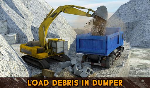 Hill Excavator Mining Truck Construction Simulator screenshots 11