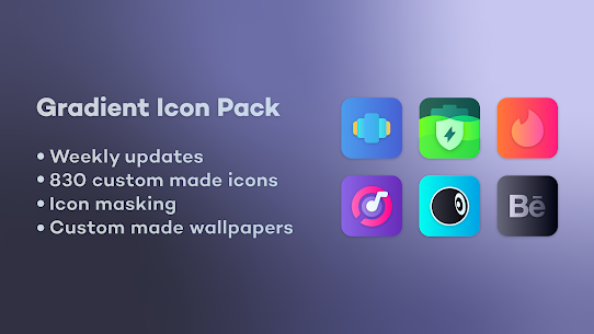 Gradient Icon Pack (MOD, Paid) v1.9 1