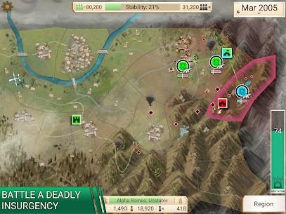 Rebel Inc Mod Apk (Premium Purchased/All All Maps Unlocked) 9