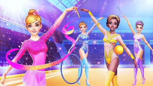 u2605 Gymnastics Games for Girls - Dress Up u2605 screenshots 1