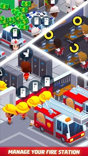Idle Firefighter Tycoon APK , Fire Emergency Manager APK Download 10