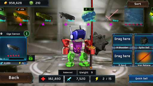 MegaBots Battle Arena: Build Fighter Robot 3.48 screenshots 1