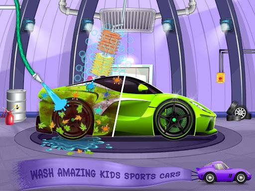 Kids Car Wash Service Auto Workshop Garage  screenshots 18