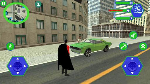 Flying SuperHero Rope Vegas Rescue apkpoly screenshots 5