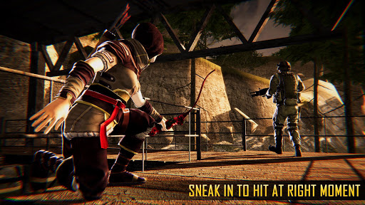 Ninja Archer Assassin FPS Shooter: 3D Offline Game 2.8 screenshots 4