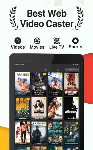 iTVCast: Cast Web Videos to Chromecast Smart TV  screenshots 4
