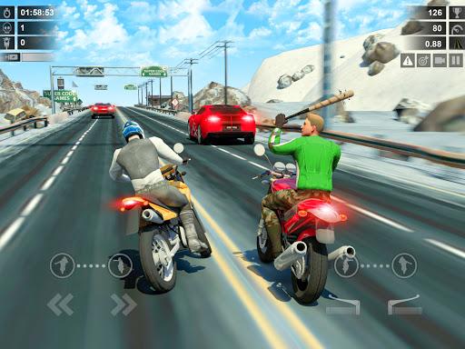 Traffic Racer: Dirt Bike Games apkdebit screenshots 8